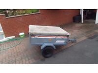 small tipper box trailer