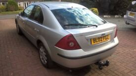 Ford Mondeo Zetec 2.0 Petrol, 5 Door ,90k , Tow Bar, Silver, Full Service, Private sale