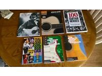 FAB COLLECTION OF GUITAR/CHORD MUSIC BKS FAB BOOKS EXPENSIVE TO BUY EACH ONE....SALE BUNDLE