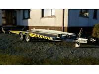 Car transporter trailer Brian James high max