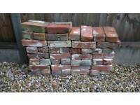 Reclaimed Norfolk red bricks