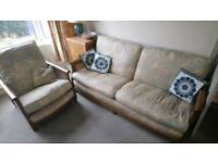 Couch and chair free. Must collect