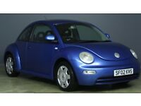 VOLKSWAGEN BEETLE 2002 02 PLATE 3 DOOR HATCHBACK MOT JULY TEL 07455522406