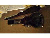Acoustics, ukuleles and hard cases.