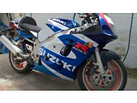 SUZUKI GSX R 600 Y FOR SALE