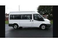 Mini bus 9 seater hire