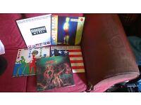 5x classic vinyl records