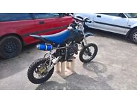 125cc pit bike with spare parts