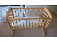 Crib for sale (wooden)