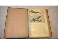 The Aeroplane Spotter magazine - various editions 1941 - 1943