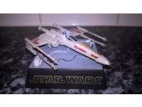 Star Wars Miniature X-Wing model (Takara-Japanese Import)