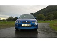 mg zr 160 1 years mot