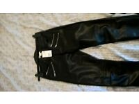leather pants new from handm