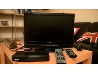 "16"" alba tv and freeview box"
