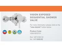 Deva shower value