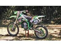 Motocross kx250 plus spares