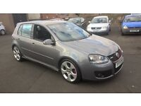 STUNNING VW GOLF MK 5 GTI TURBO FULL LEATHER CHEAPER PX WELCOME £3750 ONO