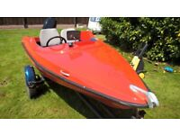 Speed Boat, Trailer, Engine, etc.