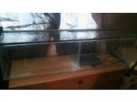 double fish tank