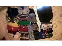 bundle of boy clothes 2-3 years