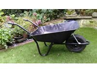 Builders wheelbarrow