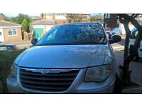 2006 Chrysler grand voyager. Electric doors and windows, tinted windows, 7 seats, 5 seats fold in.