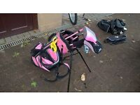 Junior Golf Clubs and shoes - various sets from £20