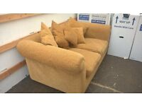Two seater sofa with cushions