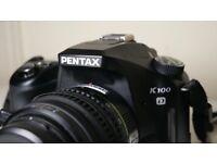 PENTAX K100D - DSLR : with original 18-55mm Lens