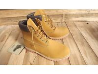 timberland mens hiking uk 11 tan waterproof suede classic ankle new