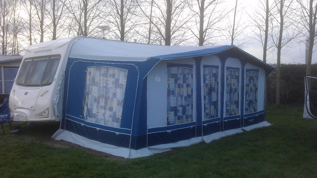 Trio Sport awning with tall annex (annex only 1 year old ...
