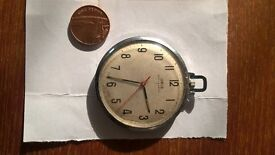 GENTS ORIS POCKET / FOB WATCH FOR SPARES