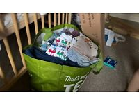 job lot baby clothes and new items