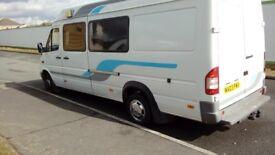 Mercedes 413 camper lwb