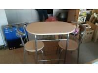 A nice break farst table