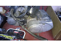 Pit bike job lot spares