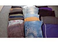 Girls leggings/jeans/joggers bundle