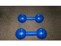 Davina Blue Dumbells 2 x 2.27kg