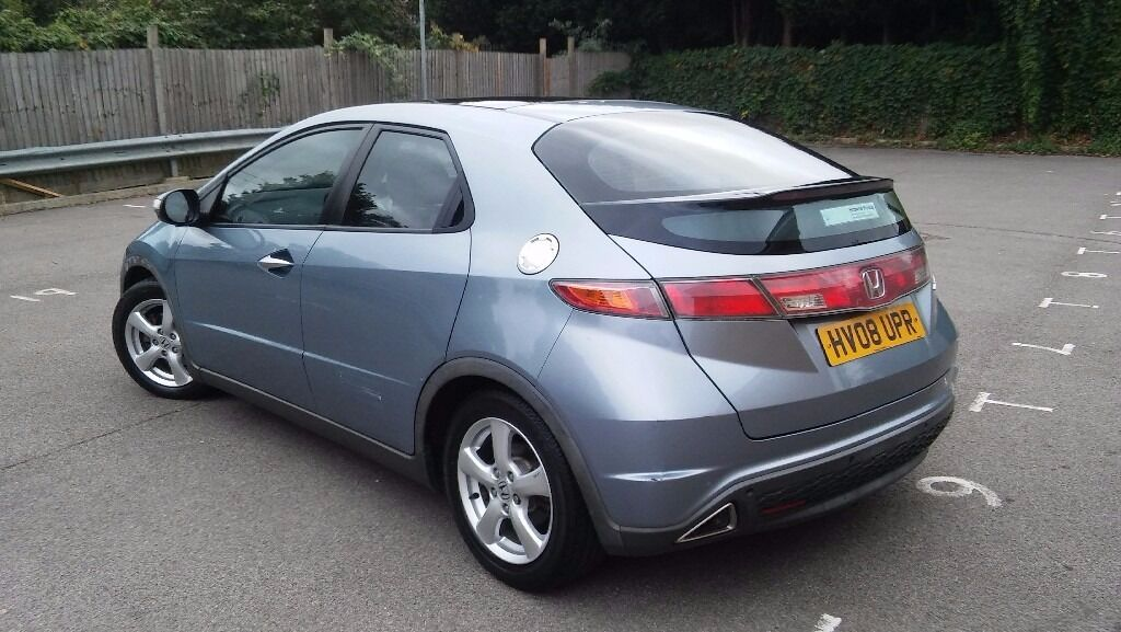 AUTO 2008 HONDA CIVIC 1.8, 1 YR MOT, GLASS ROOF, ONLY 42k MILES, VERY CLEAN GOOD, DRIVE AWAY TODAY