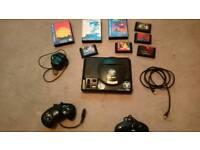 Sega megadrive 8 games, 2 controllers