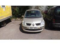 Renault Modus 5door hatchback, 11 1/2 months MOT, (on sorn) 1-4 petrol good condition for year