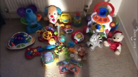 Big Toy Bundle in great condition. Batteries needed in some of the items. Offers welcome