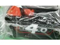 Look😮Bargain brand new Milwaukee 4AH red lithium battery 😮£50😮each brand new dewalt Makita