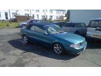 volvo convertible NEW MOT , NEW CAM BELT, LEATHER SEATS, DRIVES NICE , GOOD ON FUEL