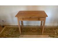 Pine Console Table / Desk
