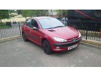 Peugeot 206 SE, 1.4 petrol, 2004, Mot 8 months,75000 miles