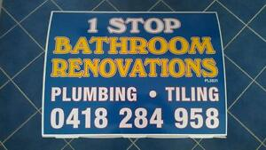 1 Stop Bathroom Renovations North Beach Stirling Area Preview