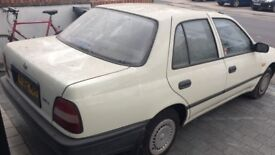 Nissan Sunny 1992 ONLY 59,000 miles