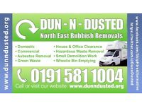 Dun N Dusted Rubbish Removal & Waste Disposal Services