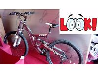 "Men's 21"" Chrome Mountain Bike"